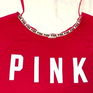 PINK oversized pull-over